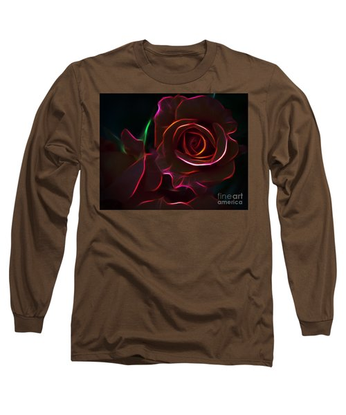 Radiant Rose  Long Sleeve T-Shirt