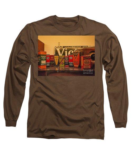Radio Tubes Long Sleeve T-Shirt by Janice Rae Pariza