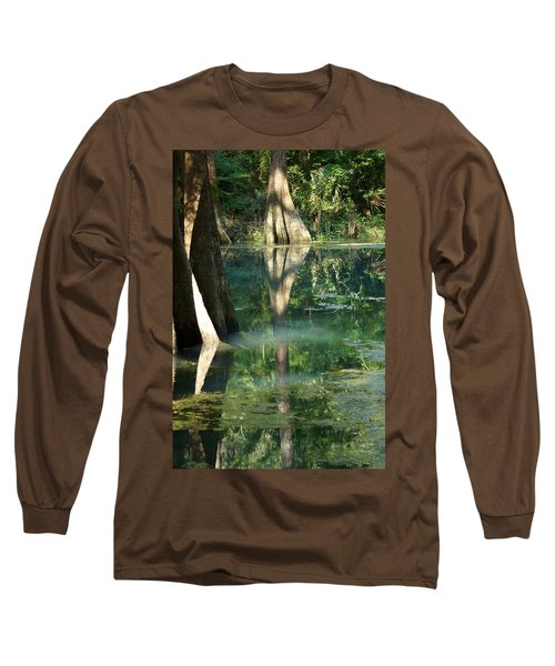 Radium Springs Creek In The Summertime Long Sleeve T-Shirt