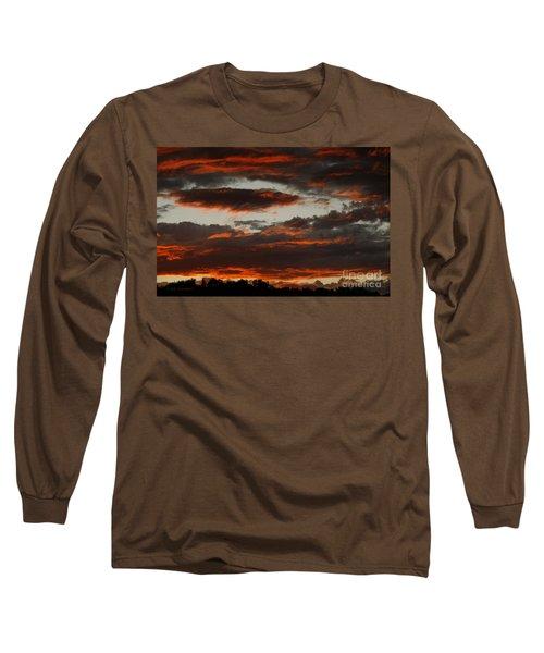 Raging Sunset Long Sleeve T-Shirt