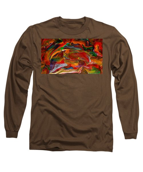 Rainbow Blossom Long Sleeve T-Shirt