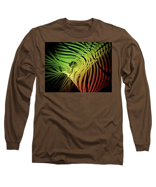 Rainbow Ribs Long Sleeve T-Shirt by Richard J Cassato