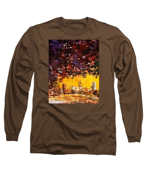 Raleigh Downtown Long Sleeve T-Shirt by Ryan Fox