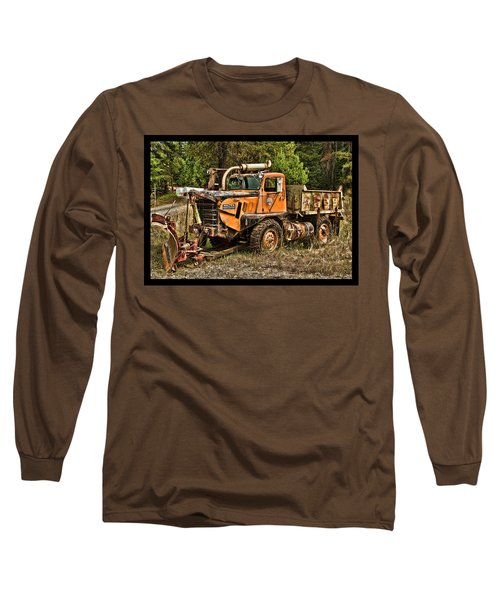 Ready For Snow By Ron Roberts Long Sleeve T-Shirt