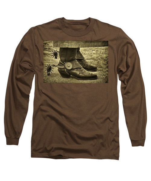 Long Sleeve T-Shirt featuring the photograph Ready To Ride by Priscilla Burgers
