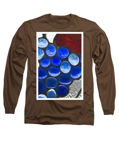 Red Blue Long Sleeve T-Shirt
