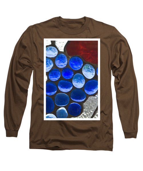 Red Blue Long Sleeve T-Shirt