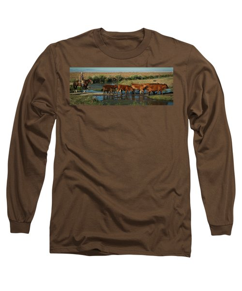 Red Cattle Long Sleeve T-Shirt