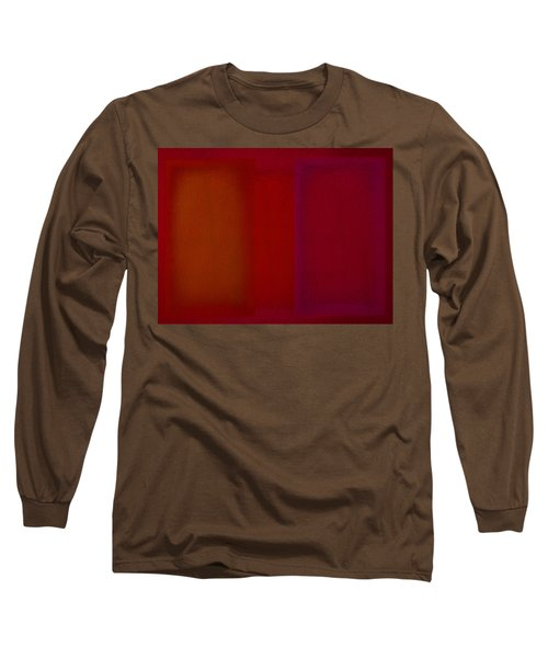 Red Long Sleeve T-Shirt by Charles Stuart