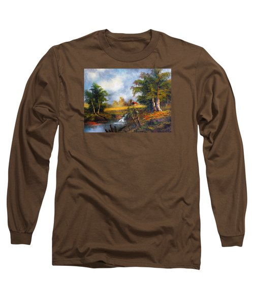 Red Cottage Long Sleeve T-Shirt