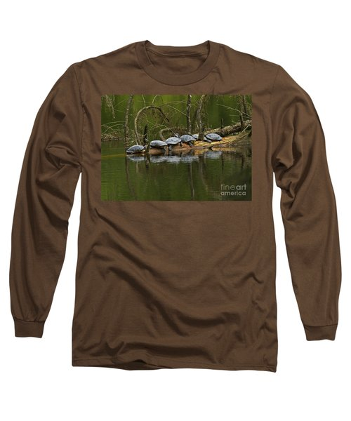 Red-eared Slider Turtles Long Sleeve T-Shirt