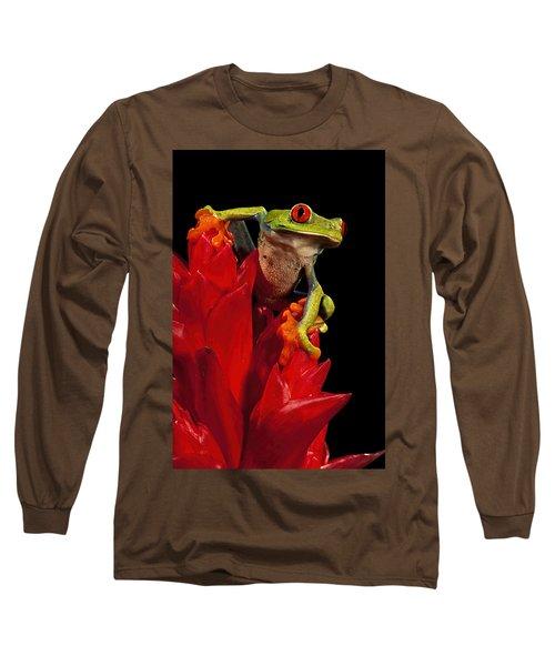 Red Eye Long Sleeve T-Shirt