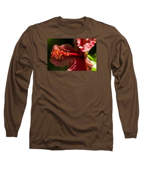 Red Flower Long Sleeve T-Shirt