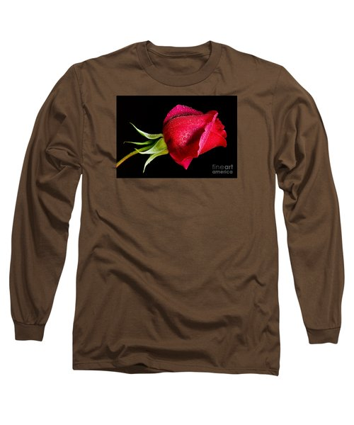 Red Hot Long Sleeve T-Shirt by Nick  Boren