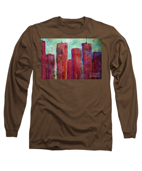 Red In The City Long Sleeve T-Shirt