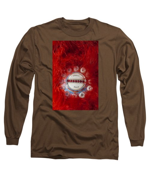 Red Phone For Emergencies Long Sleeve T-Shirt