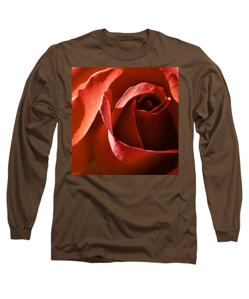 Red Red Rose Long Sleeve T-Shirt