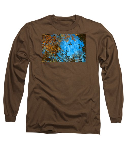 Red-tailed Hawk Long Sleeve T-Shirt by Sandi OReilly