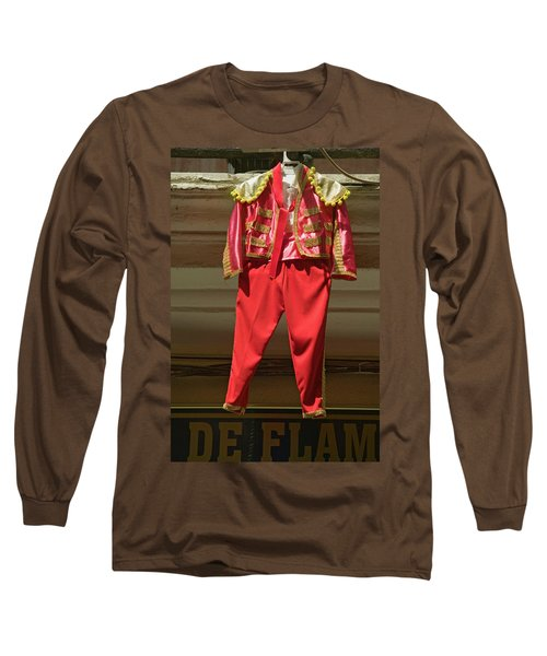Red Toreador Bull Fighting Outfit Long Sleeve T-Shirt