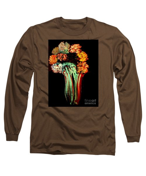 Red Vase Revisited Long Sleeve T-Shirt by Bill OConnor
