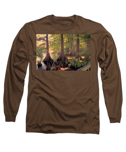 Reelfoot Lake At Sunset Long Sleeve T-Shirt