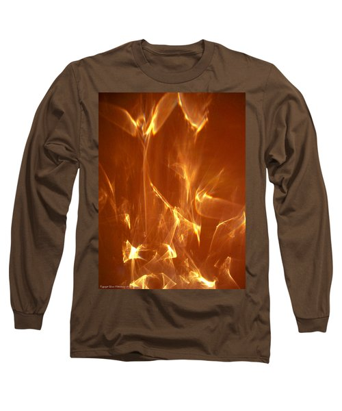 Reflected Angel Long Sleeve T-Shirt by Leena Pekkalainen