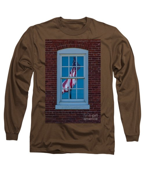 Long Sleeve T-Shirt featuring the photograph Reflection Of Freedom by Patrick Shupert