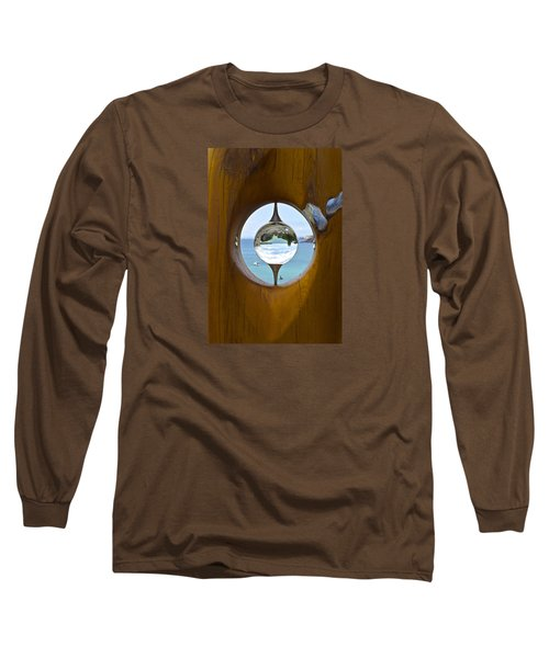 Reflections In A Glass Ball Long Sleeve T-Shirt