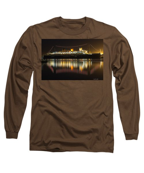 Reflections Of Queen Mary Long Sleeve T-Shirt