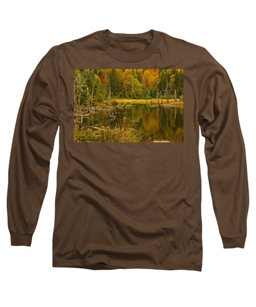 Reflections Of The Fall Long Sleeve T-Shirt