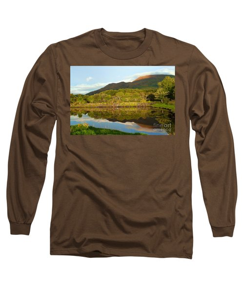 Reflections On Loch Etive Long Sleeve T-Shirt