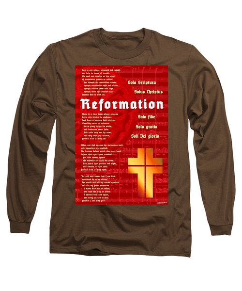 Reformation Long Sleeve T-Shirt by Chuck Mountain