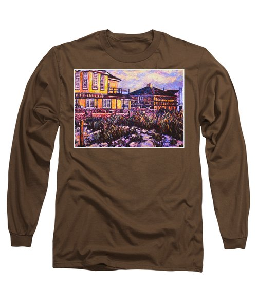 Rehoboth Beach Houses Long Sleeve T-Shirt