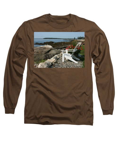 Relaxing Afternoon Long Sleeve T-Shirt by Mariarosa Rockefeller