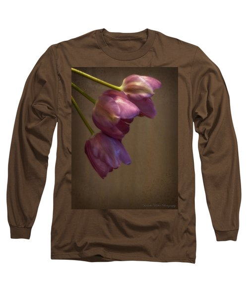 Long Sleeve T-Shirt featuring the photograph Remaining Glory by Lucinda Walter