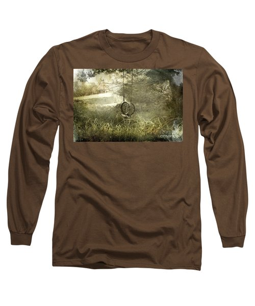 Reminiscing Long Sleeve T-Shirt by Ellen Cotton