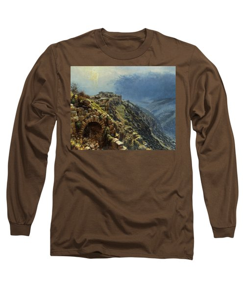 Rider On A White Horse Long Sleeve T-Shirt