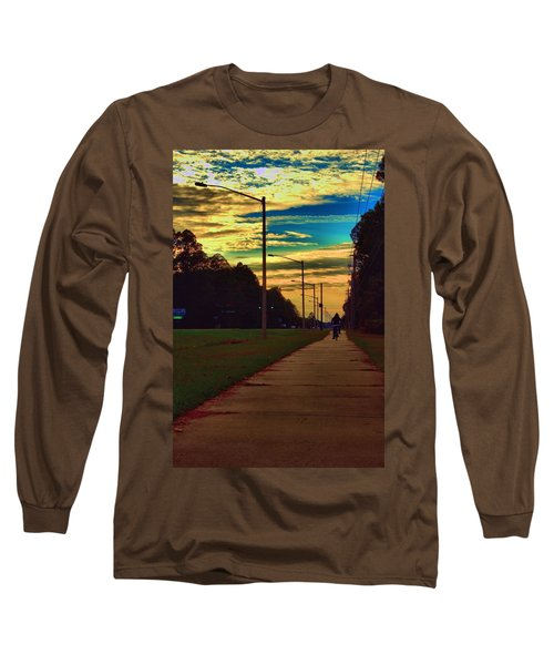Riding Into The Sunset Long Sleeve T-Shirt