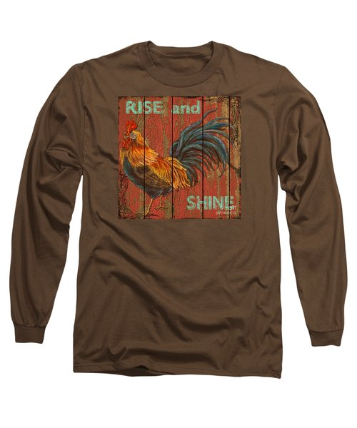 Rise And Shine Long Sleeve T-Shirt by Jean PLout