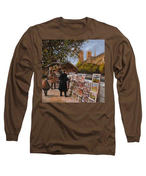 Rive Gouche Long Sleeve T-Shirt