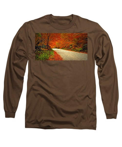 Road To Nowhere Long Sleeve T-Shirt by Bill Howard
