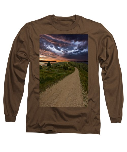 Road To Nowhere - Stormy Little Bend Long Sleeve T-Shirt