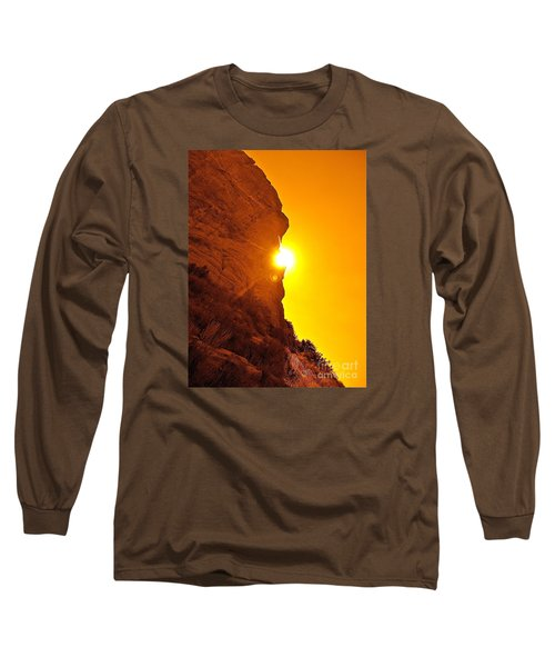 Rock Eclipse  Long Sleeve T-Shirt by Gem S Visionary