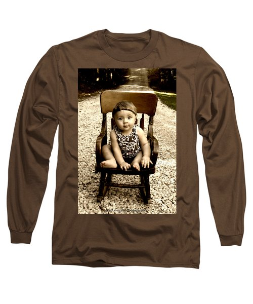 Rocks And Chair Long Sleeve T-Shirt