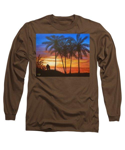 Romance In Paradise Long Sleeve T-Shirt
