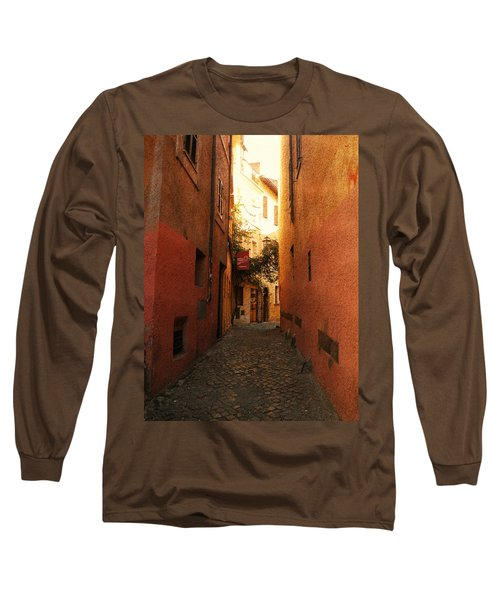 Romano Cartolina Long Sleeve T-Shirt by Micki Findlay