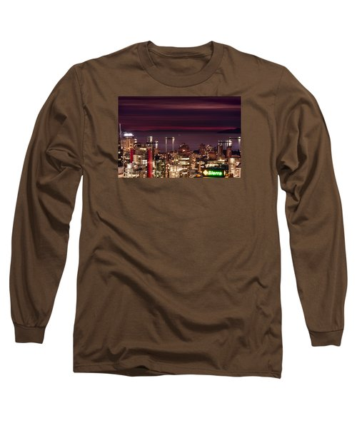 Long Sleeve T-Shirt featuring the photograph Romantic English Bay Mdcci by Amyn Nasser