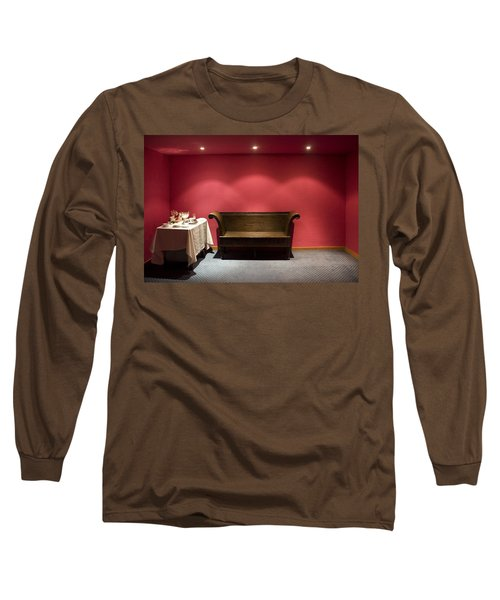 Room Service Long Sleeve T-Shirt by Lynn Palmer