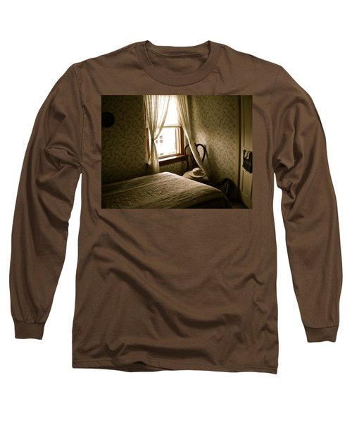 Long Sleeve T-Shirt featuring the photograph Room301 Irish Inn by Joan Reese