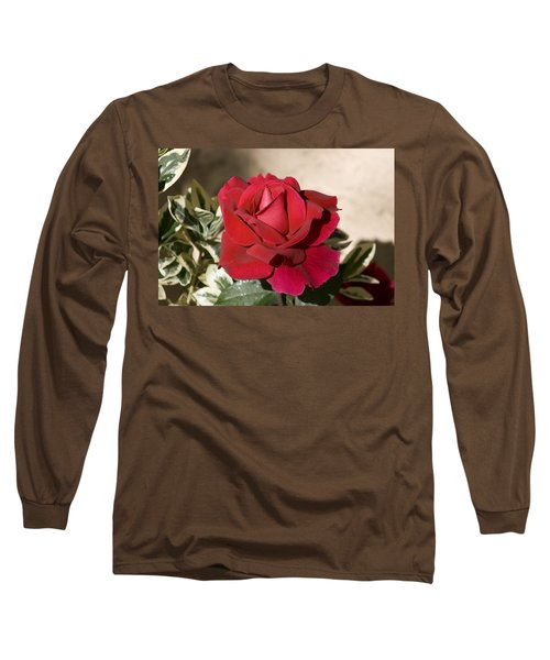 Rose 5 Long Sleeve T-Shirt by Andy Shomock